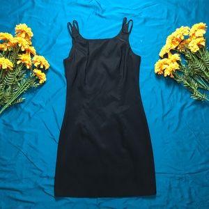 City Triangle woman black dress